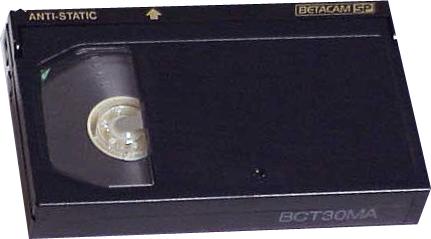 Conversión de cintas BETA y BETAMAX a DVD y DIGITAL
