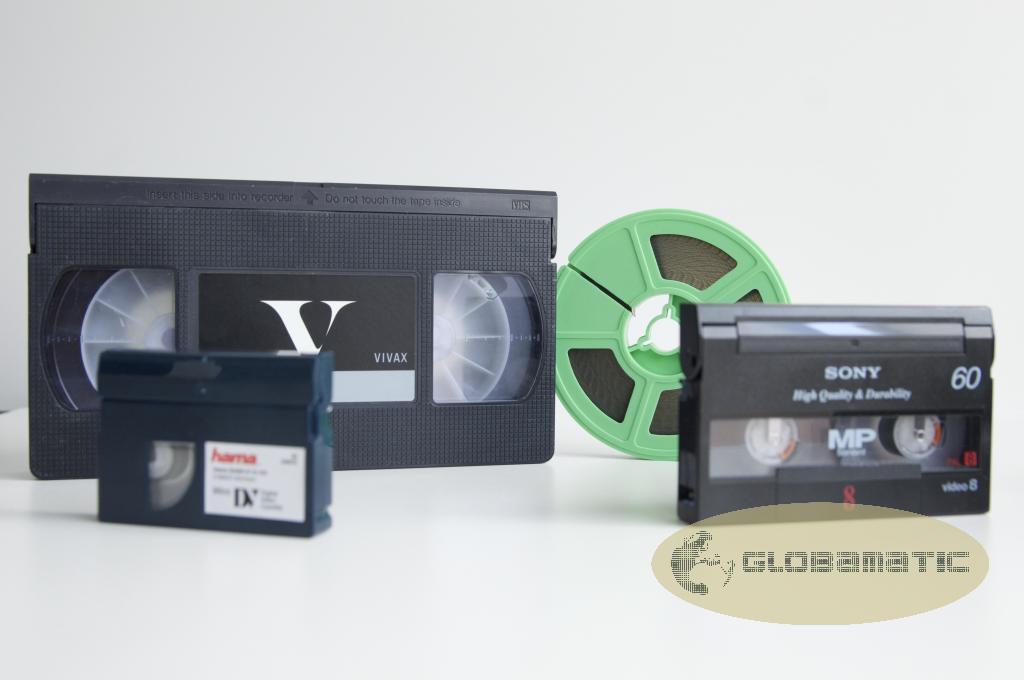 Conversion cintas video a DVD y Digital