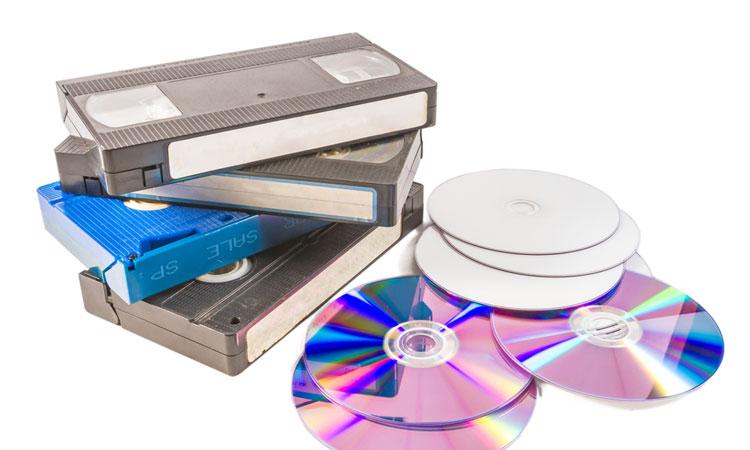 pasar cintas de vhs a dvd