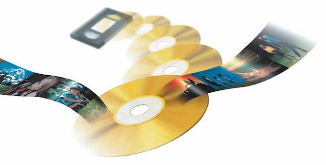 PASAR DE VHS A PENDRIVE