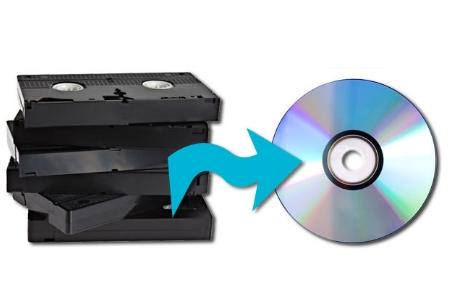 Pasar a DVD cintas de 8mm