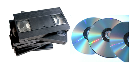 reproductor vhs versus dvd