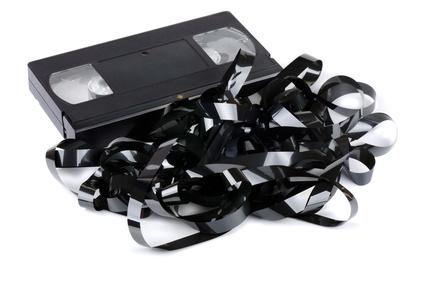 Recuperación de datos en cintas vhs dañadas