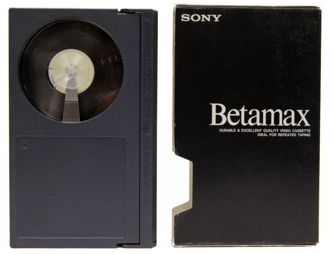Las cintas beta y betamax