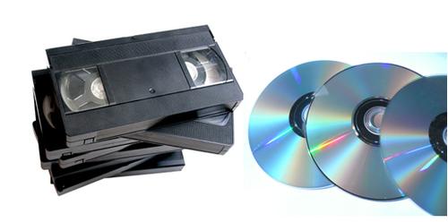 Recupera tus cintas de vídeo vhs