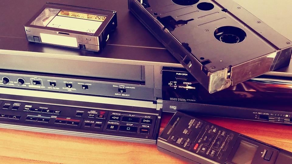 La rapidez de digitalizar las cintas VHS a DVD