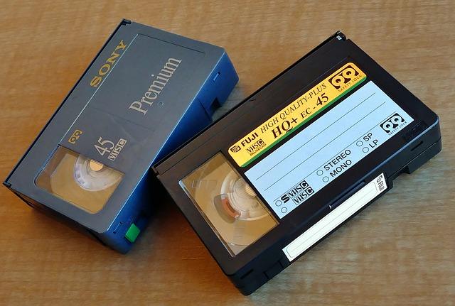 ¿Por qué debo convertir mis antiguas cintas vhs a digital?
